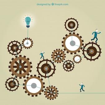 ビジネスワーキングコンセプト