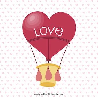 Любовь воздушный шар