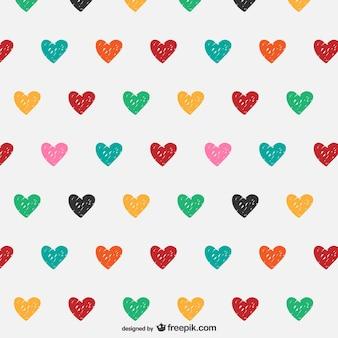落書きの心のパターン