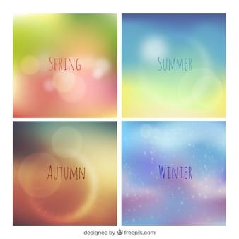 Сезонные фоны