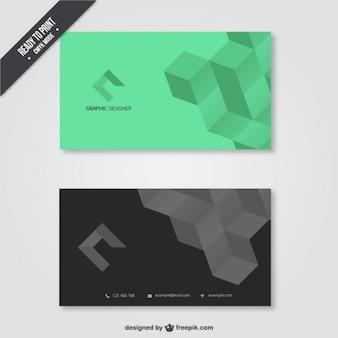 Визитная карточка для графического дизайнера