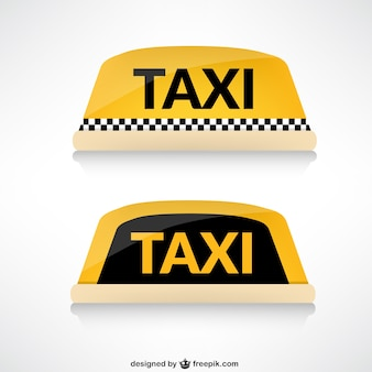 タクシーの屋根