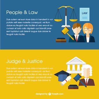 法律のバナー