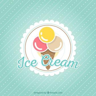 Мороженое фон