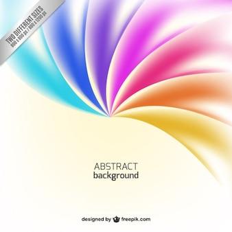 虹色調の抽象的な背景