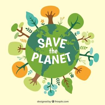 Спасите планету