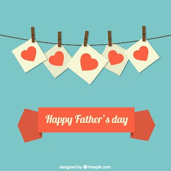 心と父の日カード