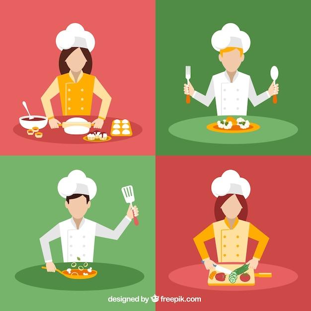 料理人のバラエティ