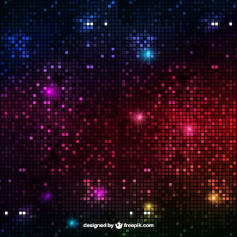 Абстрактный фон огни дискотеки