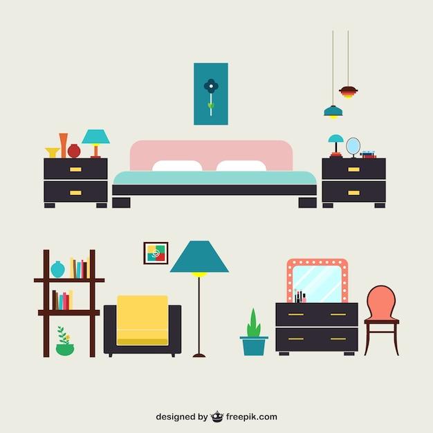 寝室用家具