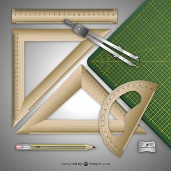 木製のルール