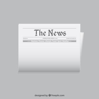 Шаблон газета