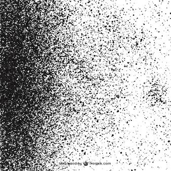白い背景に黒い斑点