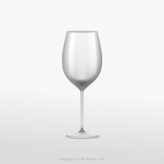 現実的なワイングラス