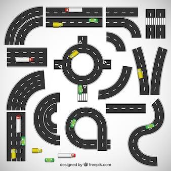 Коллекция автодороги