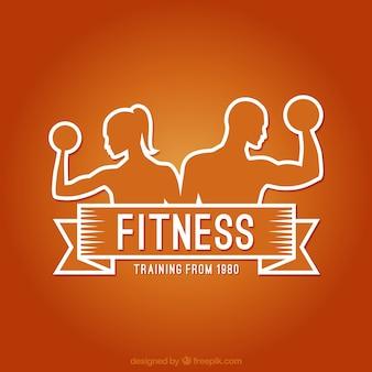 フィットネスのロゴ
