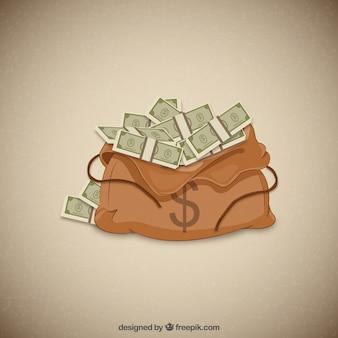 Деньги мешок