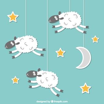 羊ハンギング