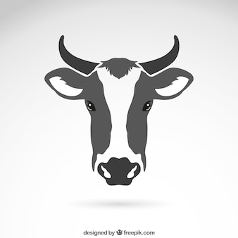 Корова головой