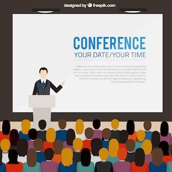 Шаблон баннер конференция