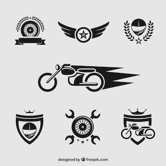 Мотоцикл значки