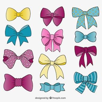 かわいい蝶ネクタイ