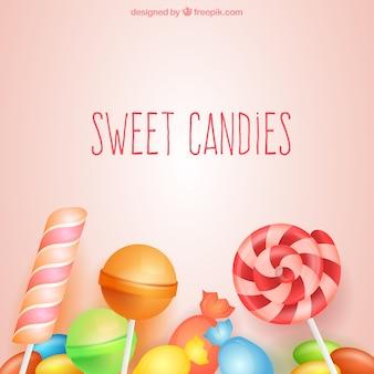 甘いキャンディ