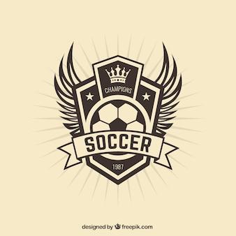 Футбольная команда значок