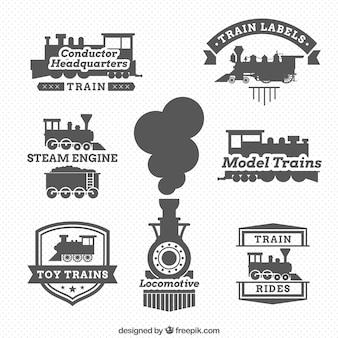 機関車のラベル