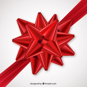 ギフト用の赤い弓