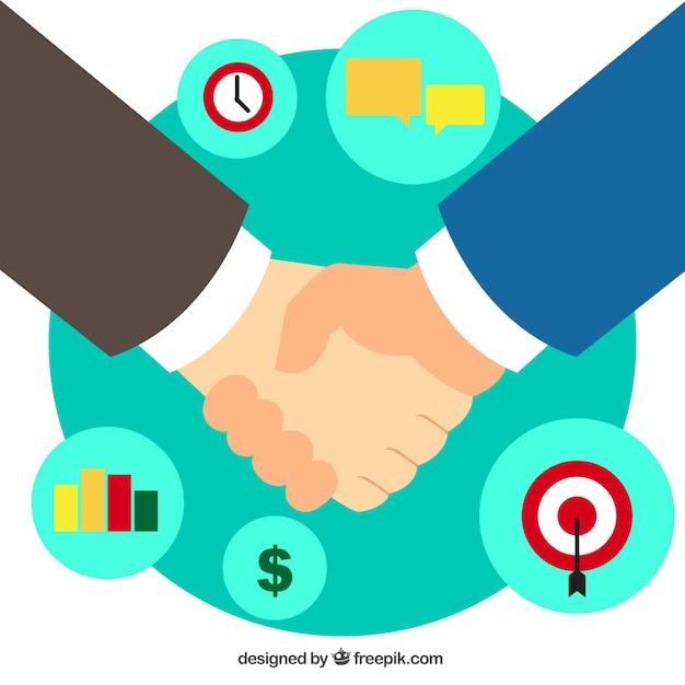 Бизнес рукопожатие