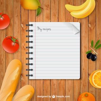 Рецепты ноутбук
