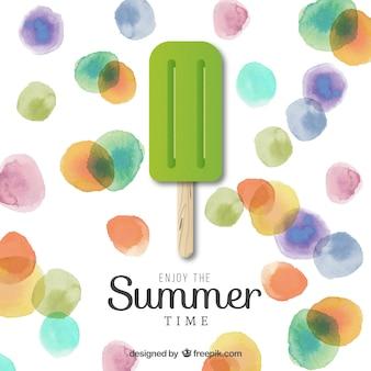 夏の時間を楽しみます