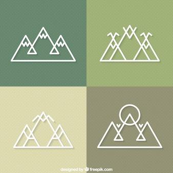 山のアイコン