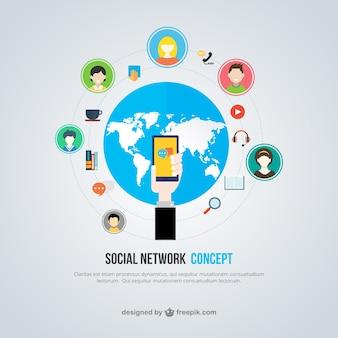 Социальная концепция сети