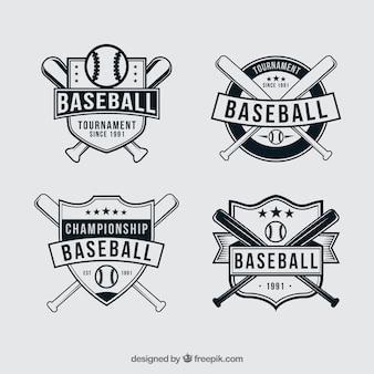 野球バッジ