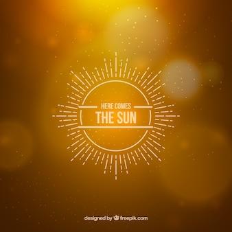 ここでは太陽が来ます