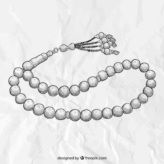 Ручной обращается ожерелье