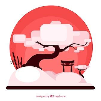Японский дерево