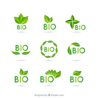 Био логотипы