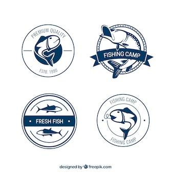 Рыбалка лагерь значки