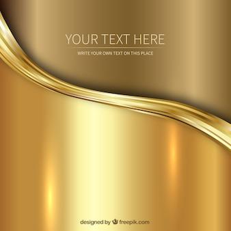 Золотой фон