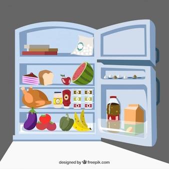 食品と冷蔵庫
