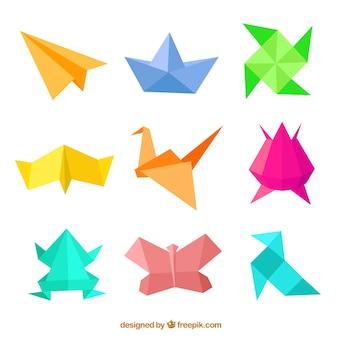 Оригами цифры