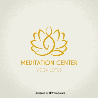 Медитация центр логотип