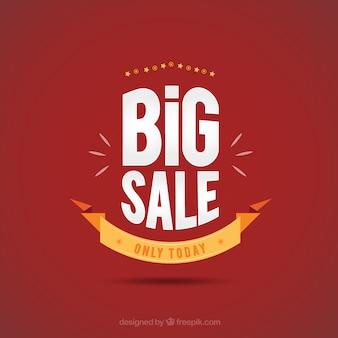 Большие продажи плакат