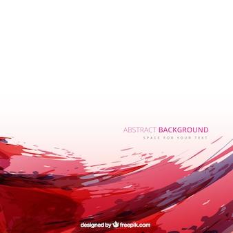Красный фон акварелью