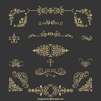 ヴィンテージの装飾品コレクション