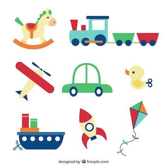 Цветные игрушки коллекция