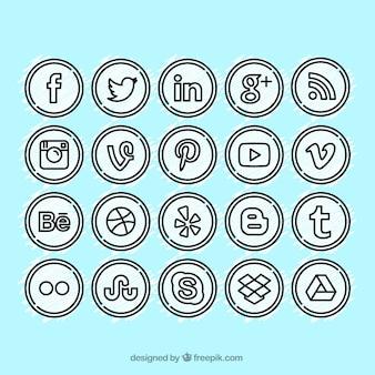 Иконки социальные медиа